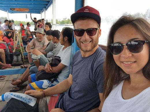 Fähre von Gili Air nach Lombok