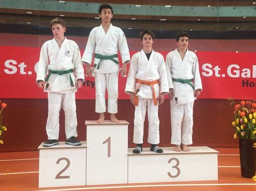 3. Rang für Nico am internationalen Gallus Turnier!