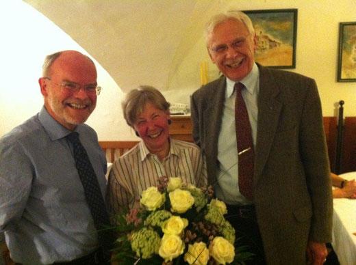 Dr. Erich Wolny, Helga Langer, Dr. Erich Langer / Foto: Stiftung