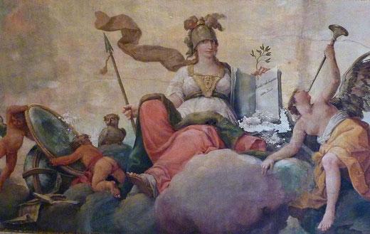 Solimena Francesco Abate. Allegoria  della Giustizia