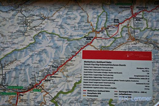 Matterhorn - Gotthard Bahn
