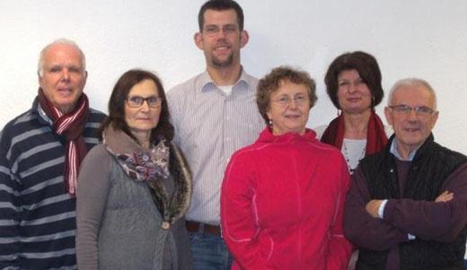 1. Vorsitzender: Jan Schmucker; Leitungsteam: Gabriele Schmitt, Wolfgang Marek, Beate Segnitz,  Patricia Zimmermann (auch Schriftführerin); Schatzmeister: Prof. Eberhard Scharff, Kassenprüfer: Ingrid Maus, Clemens Deibert.