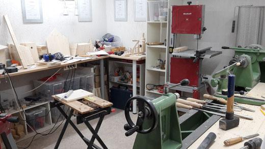 Die Werkstatt 2019 (Foto D. Mohr)