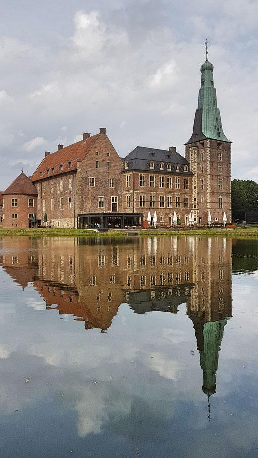 Stille Landschaften 4 - Schloss Raesfeld, ein weiteres  Highlight des heutigen Tages