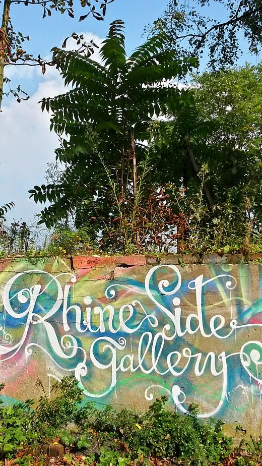 Neu seit 2017 in Krefeld Uerdingen: Street Art am Rhein