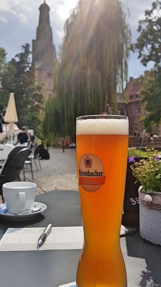Pause am Schloss Raesfeld