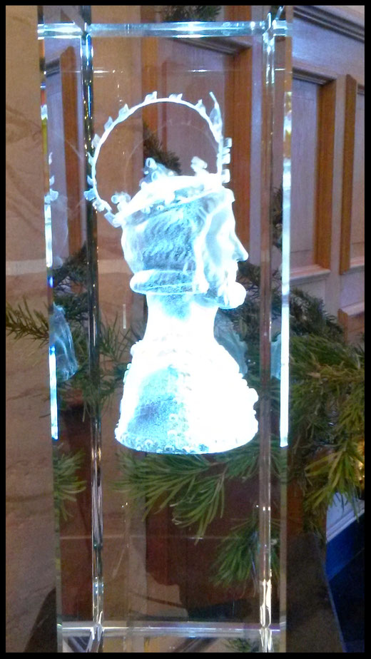 Hologramm des Kaisers Karl