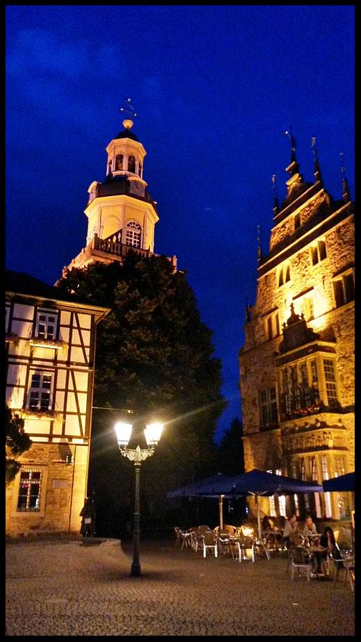 Rathaus und Kirche Altstadt Rinteln