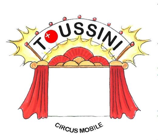 urheberrechtl. Hinweis: Bildrechte Grafiken - TOUSSINI-circus mobile