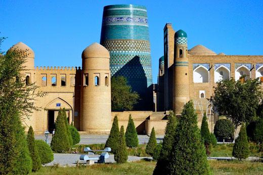 Das Bild zeigt die Altstadt Chiwas, eine der ältesten Städte der Welt: Foto: Veranstalter