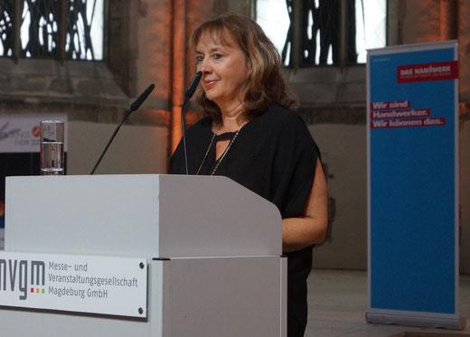 Diane Sommer ist Geschäftsführerin der Kreishandwerkerschaft Elbe-Börde. Foto: Alpha-Report