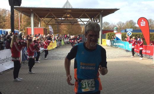 Eckhard Wernsdorf aus Genthin hat im Halbmarathon die 1:50 Stunden unterboten. Foto: Alpha-Report
