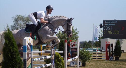 Matthias Keil war in Zeitz als Reiter und Trainer erfolgreich. Foto: Alpha-Report