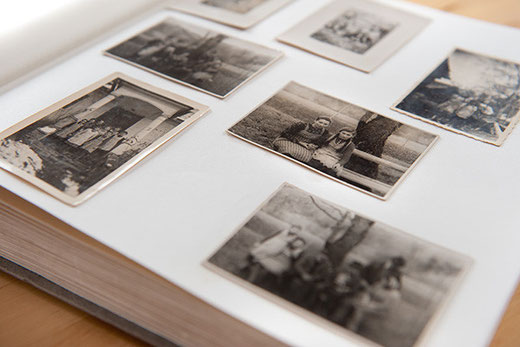 alte Fotos auf Leinenbild drucken