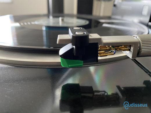 Audio-Technica AT-VM95 E / AT-VM95 SH/ Praxistest auf www.audisseus.de / Foto: Fritz I. Schwertfeger / www.audisseus.de