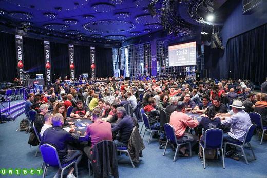 La salle des étoiles à Monte-Carlo au jour 1A. Un endroit magique ! (Photo UNIBET)