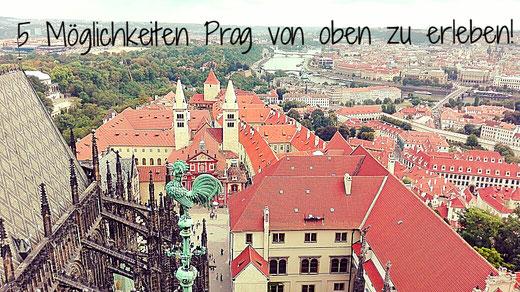 Aussicht vom Südturm des Dom St. Veit - Prager Burg