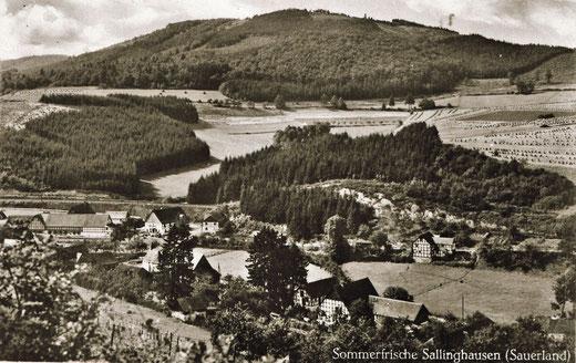 Sallinghausen im Mühlental (Foto um 1920)