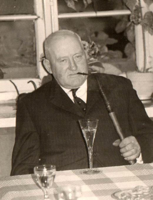 Heinrich Heymer, so wie ich ihn kannte (Foto um 1960)