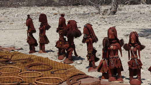 Art Himba, Namibie, photo non libre de droits