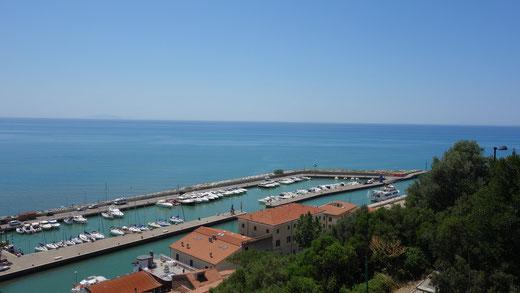 Der Jachthafen von Castiglione della Pescaia