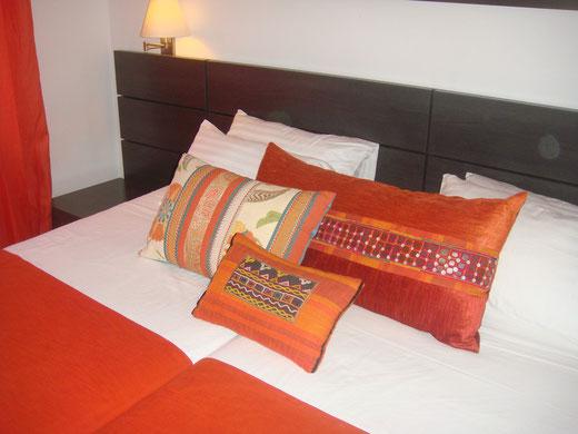 Decoración textil en Hotel Casa Marina