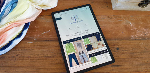Your Online Walkin Closet kan gebruiken op de desktop, tablet en smartphone.