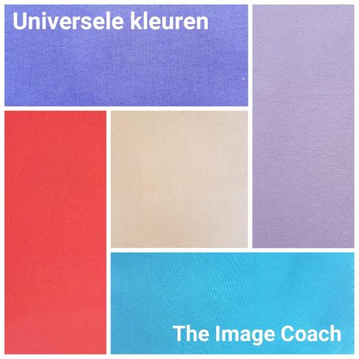 Universele kleuren; kleuren die iedereen kan dragen.