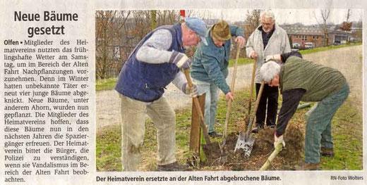 Ruhr Nachrichten vom 17.03.09