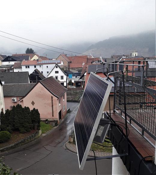 Leben mit der Energiewende TV - Balkon-Steckdosenmodul