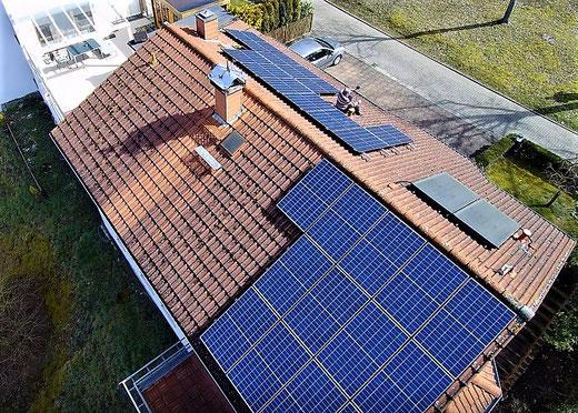Leben mit der Energiewende TV - verschattete PV-Anlage in Rehborn