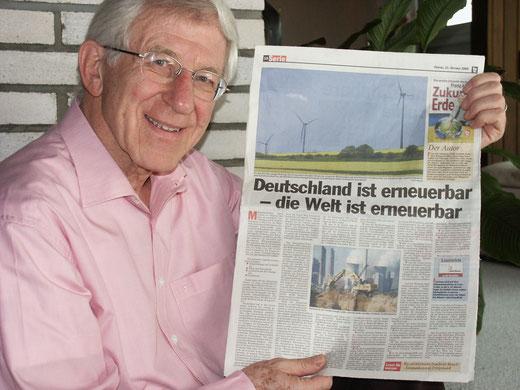 Leben mit der Energiewende TV - Transparenz TV - Dr. Franz Alt sendet wieder