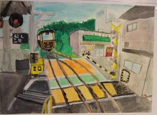 「長谷駅とチョコ電」