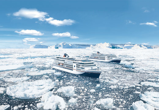 Expeditionskreuzfahrten Expeditionsschiffe Hapag-Lloyd