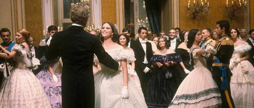 Burt Lancaster en Claudia Cardinale, 1963