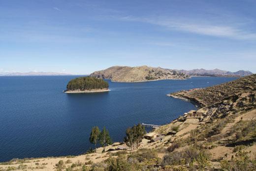 Wandern und Übernachten auf der Sonneninsel in Bolivien