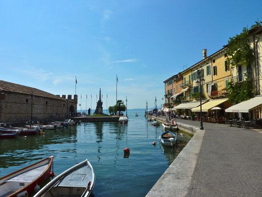 Gardasee Lazise Hafen