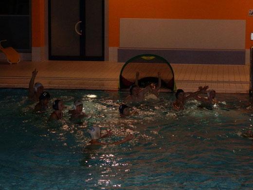 Wasserballjugendtraining