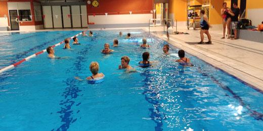 Aqua Fit Kurs Donnerstag 19:30 - 20:15 Uhr