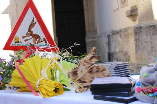Ostermarkt 2016 des Betreuten Wohnen am Kirchenplatz in Villach