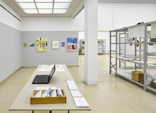 Ausstellungsansicht, Tiroler Künstler*schaft, 2018, Foto: WEST. Fotostudio