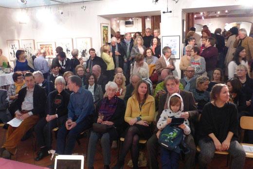 Eröffnung der Ausstellung am 24.11.2017, Foto: Otto Rapp