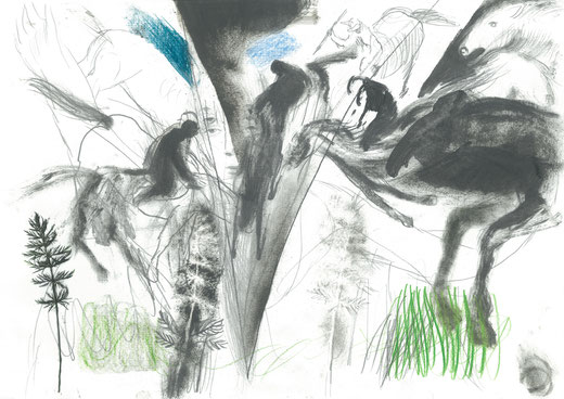 Zeichnung 5, 2017, 29,7x42cm