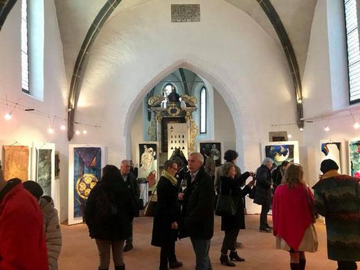 """Eröffnung der Wanderausstellung """"Fahnen on Tour"""", 24.03.2018, Foto: Christine Naber"""