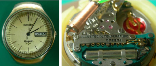 SEIKO 3823VFAの調整箇所
