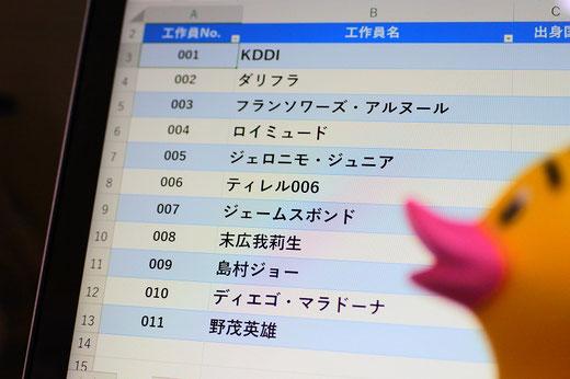 パソコン教室スタディPCネット大分高城校のエクセル上達ワンポイント「0(セロ)で始まる数値を表示する