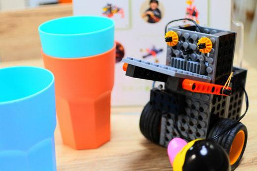 ロボット教室|重心の位置を考える
