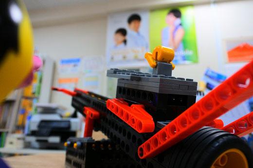 ヒューマンアカデミーロボット教室@スタディPCネット大分高城校|ロボシーソーはロボコースターになってしまいました