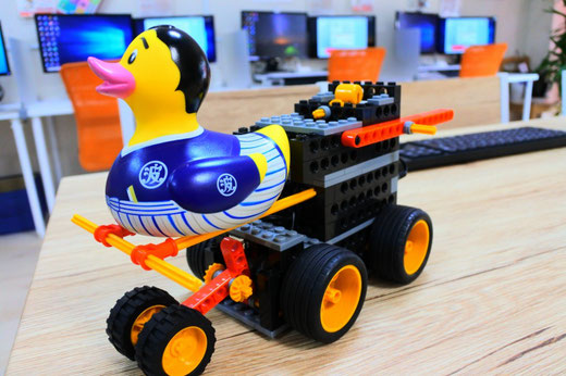 大分のロボット教室|今月のロボットは落ちません!