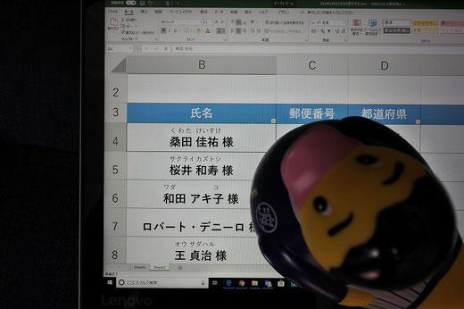 パソコン教室スタディPCネット大分高城校のエクセル上達ワンポイント「ふりがなの設定を変更する」